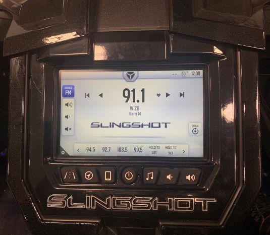 Ride Command FM radio