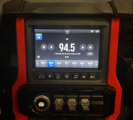 AM/FM Radio on Ride Command