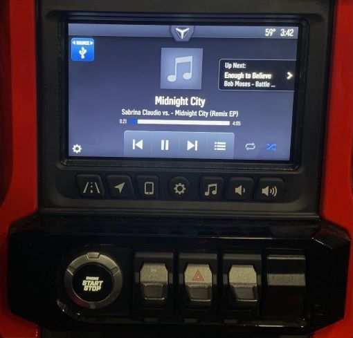 Ride Command USB Audio