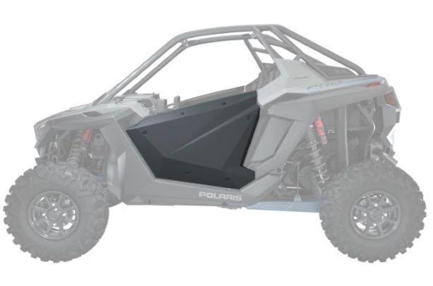 2-Seat aluminum doors