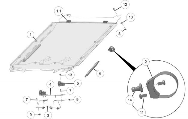 windshield diagram