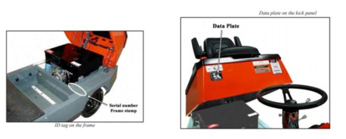 C-426 data plate