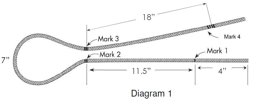 Winch Rope Diagram 1