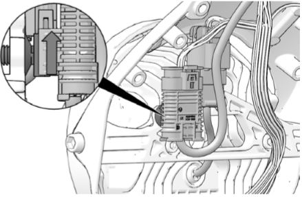 Electronic throttle control connection