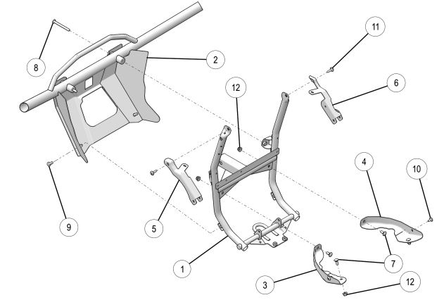 Front bumper drawing