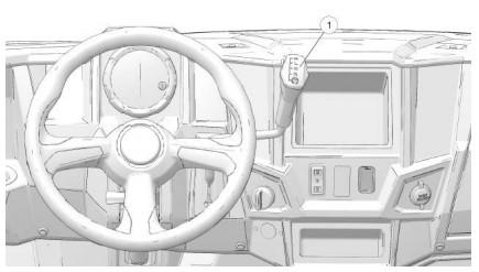 G-100 gear selector