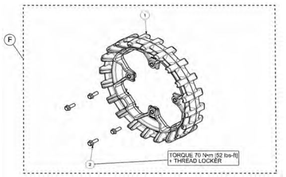 20-tooth sprocket drawing