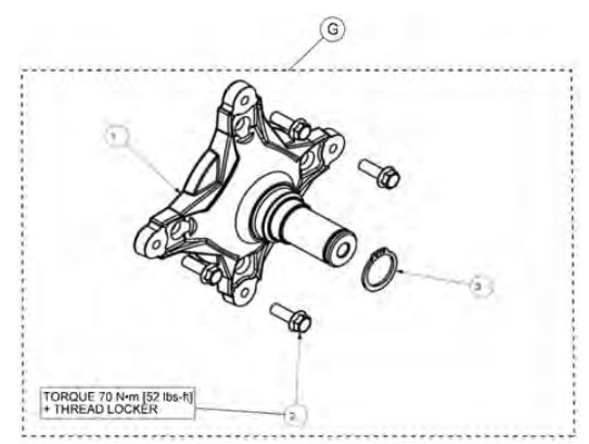 32 millimeter hub kit drawing