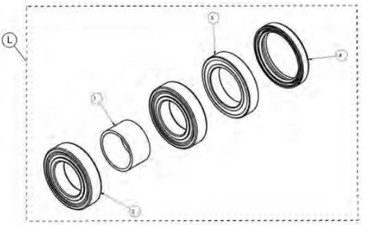 Bearing kit drawing