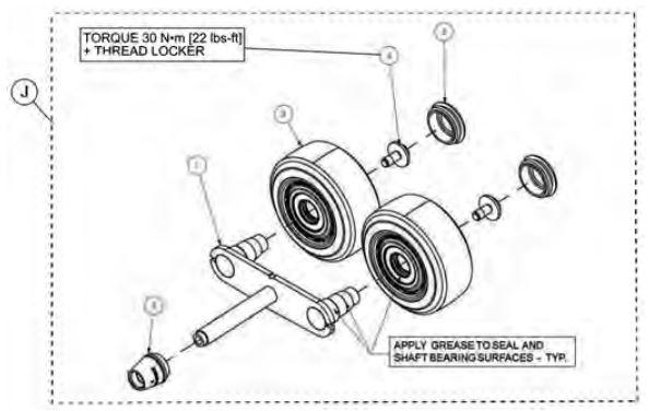 Outer rocker kit drawing