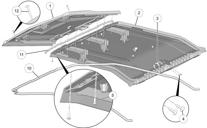Premium roof drawing