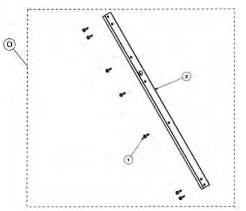 Rear track guide kit drawing