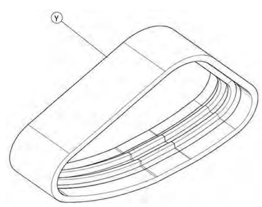 Rear track drawing