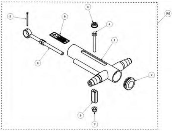 Track adjuster kit drawing