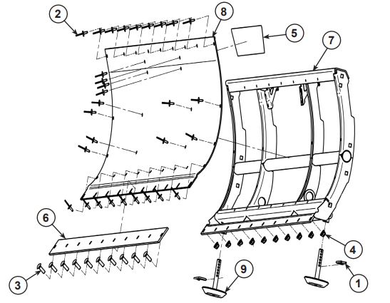 plow system parts for your ranger u00ae
