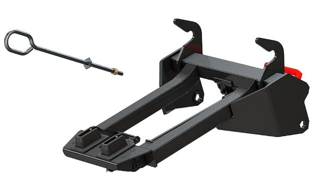 Glacier Integrated Plow Mount