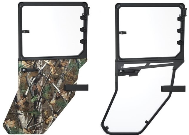 Hunter and ClearView rear doors