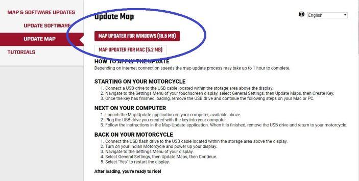 Map links