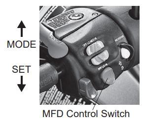 M F D control switch