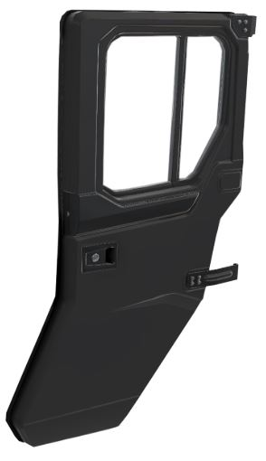 Manual Crank Window Rear Door