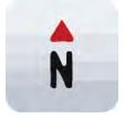 North up view icon