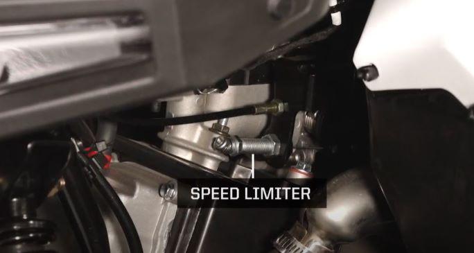 Speed limiter location
