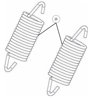 Plow springs kit