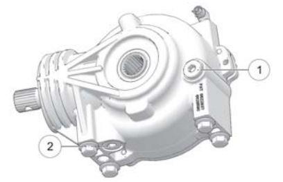 Front gearcase diagram
