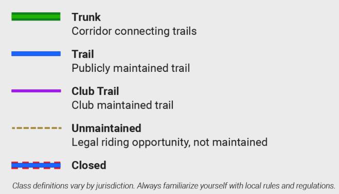 Ride Command Trail Legend