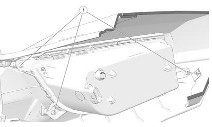 R S 1 headlight screws