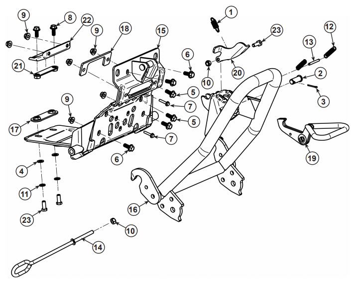 plow system parts for your rzr u00ae