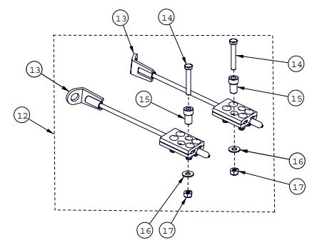 Steering limiter assembly drawing
