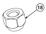 Wheel nut lug drawing