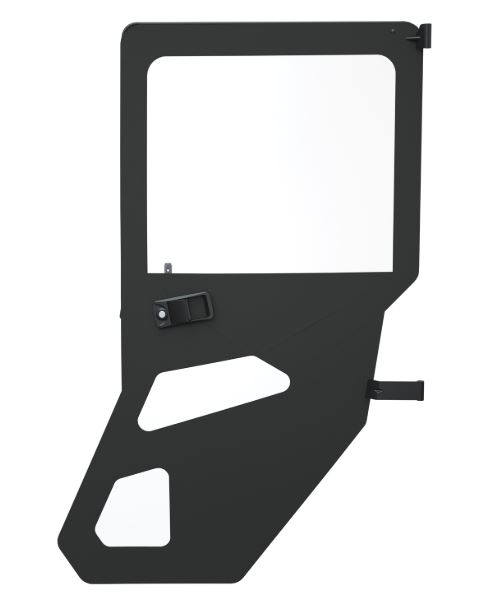 Zip window canvas rear door