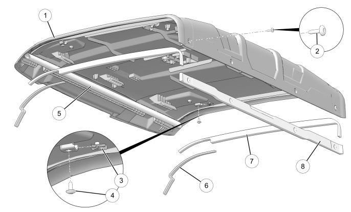 Sport roof drawing