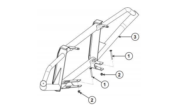 Rear brushguard drawing