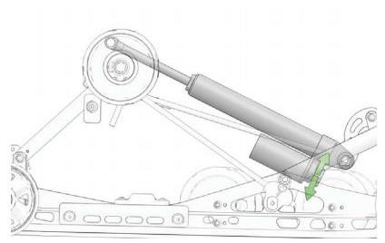 Rear track shock clicker settings