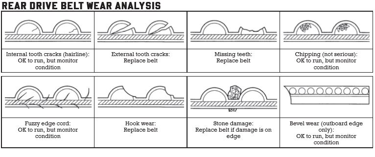 Drive belt analysis