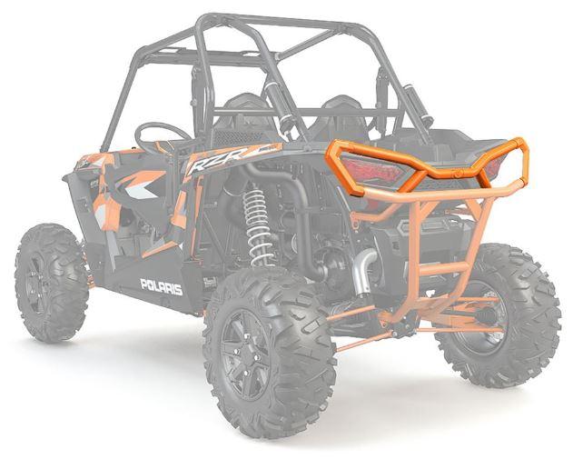 Extreme rear bumper