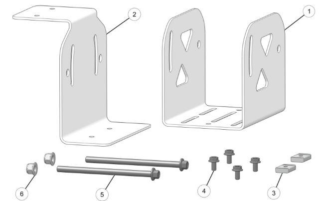 gun mounting bracket kit