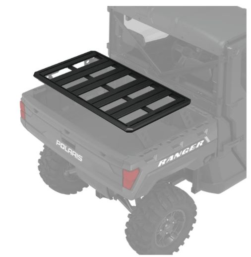 rear bed & 3-seat roof rack