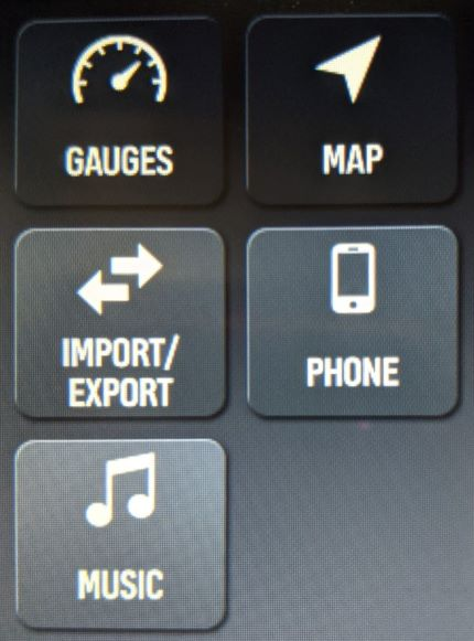 import export button