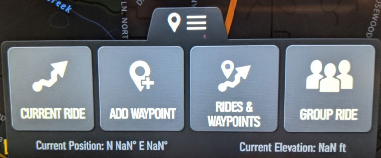 rides and waypoints navigation