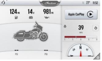 Rider screen