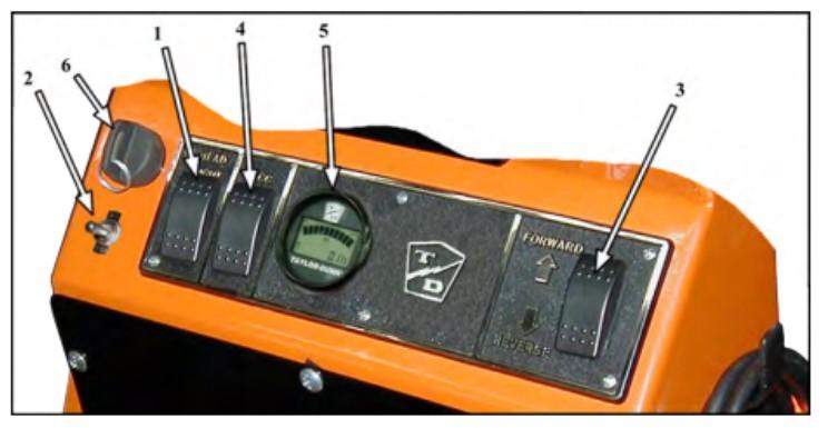 SC-100 vehicle controls
