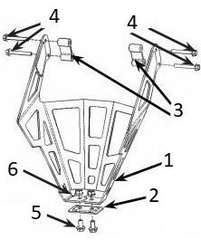 Rear guard drawing