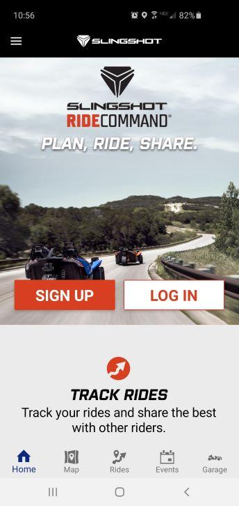 Ride Command app