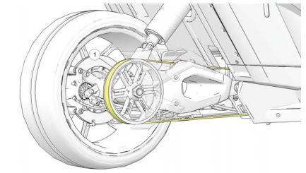 Slingshot drive belt