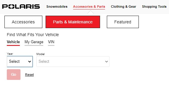 Find what fits your vehicle