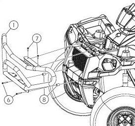 Deluxe front bumper drawing
